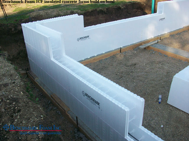 House construction foam house construction for Icf concrete