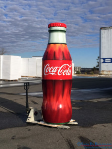 Replica Coca-Cola bottle