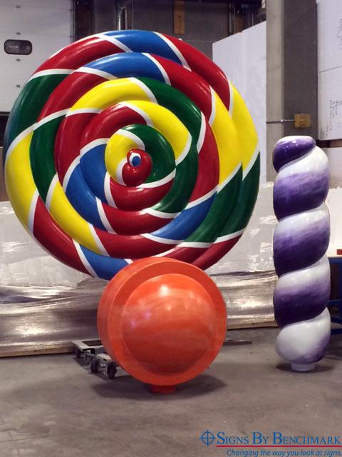 3D replica candy