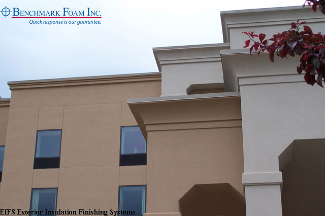 Benchmark foam expanded polystyrene eps foam manufacturer for Exterior insulation and finish systems eifs