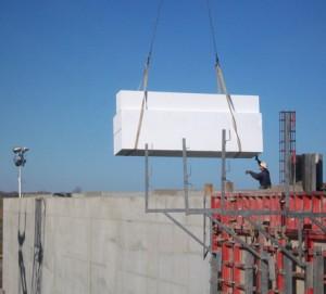 Benchmark Foam Geofoam Water Treatment Facility Installation A