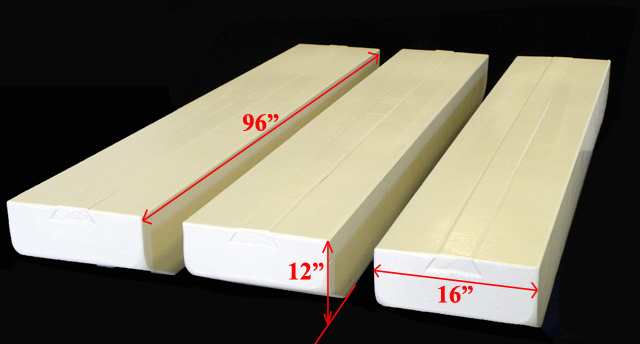 Benchmark Foam Hardcoated Dock Floats