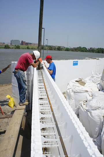 Benchmark foam expanded polystyrene eps foam manufacturer for Foam concrete construction