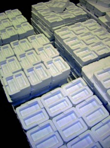 Benchmark Foam Customer Molded Packaging Pieces