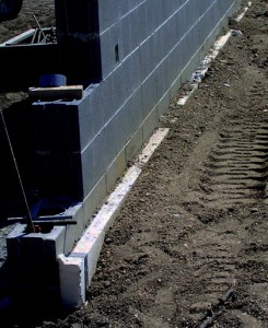 Benchmark Foam high density perimeter insulation