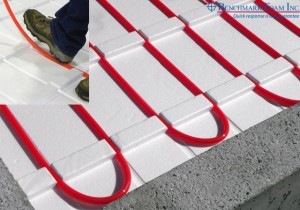 Benchmark Foam Thermo-Snap insulated panels for in-floor heat