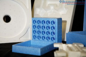 Molded EPS foam sustainable packaging