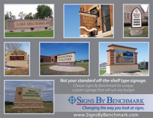Signs By Benchmark signage products