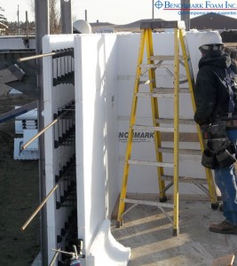 Installing Benchmark Foam ICF Insulated Concrete Forms