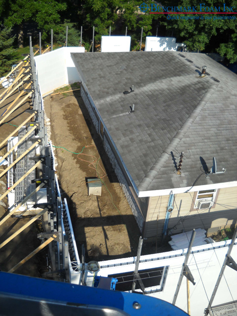 Icf roof renovation md u2013 benefits of insulated for Foam forms for concrete