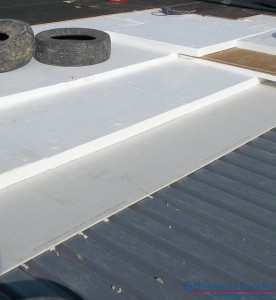 Benchmark Foam recycled eps360 insulation tapered roof system