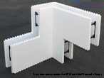 New Benchmark Foam One-Piece Corners for ICF Insulated Concrete Forms