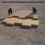 Benchmark Foam Interlocking Tank Pad Assembly for above ground storage tank support