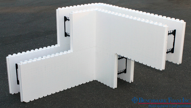 Benchmark foam expanded polystyrene eps foam manufacturer for Basement forms