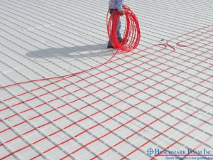 Benchmark Foam Thermo-Snap in-floor heat insulating panels