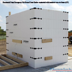 Benchmark Foam ICF Insulated Concrete Forms Emergency Safe Room Storm Shelter