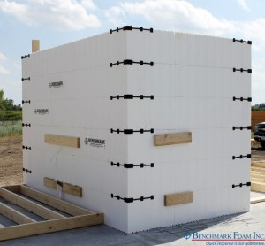 Benchmark Foam ICF Safe Room Emergency Storm Shelter