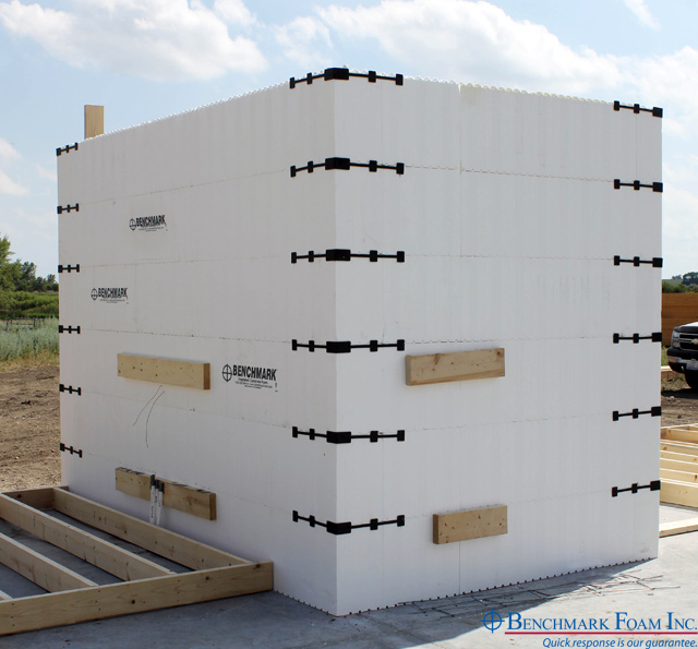 Benchmark foam expanded polystyrene eps foam manufacturer for Foam concrete forms for sale