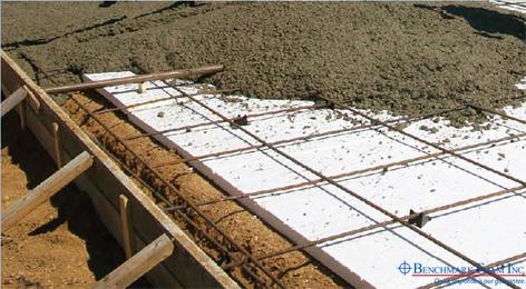 Benchmark foam expanded polystyrene eps foam manufacturer for Concrete foam insulation