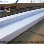 Benchmark Foam eps360 as base layer in tapered roof systems