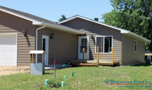 Habitat For Humanity Home with Benchmark Foam ICF