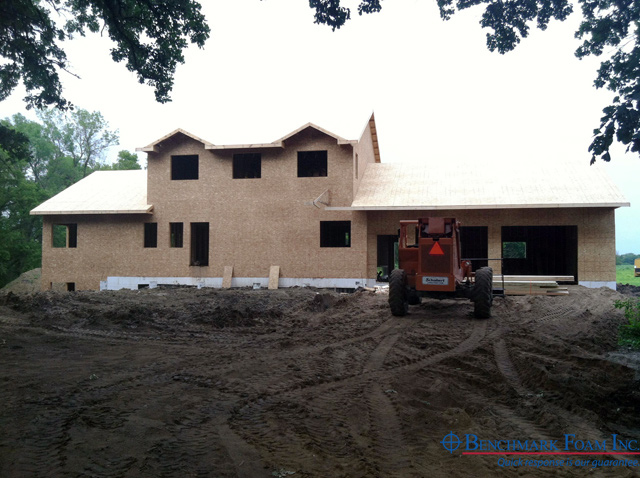 Heavy construction benchmark icf insulated concrete for Icf basement