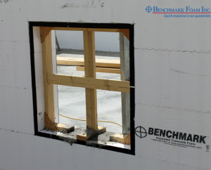 Benchmark Foam ICF compatible Gorilla Window Bucks