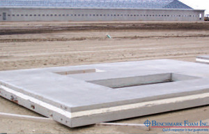 Benchmark High-Density EPS precast concrete wall