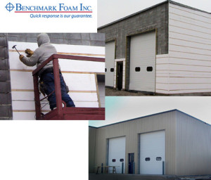 PreFirred insulation finishing exterior concrete block wall