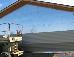 Foil-faced EPS insulation