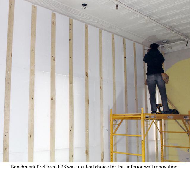 Nice Benchmark PreFirred EPS For Wall Renovation