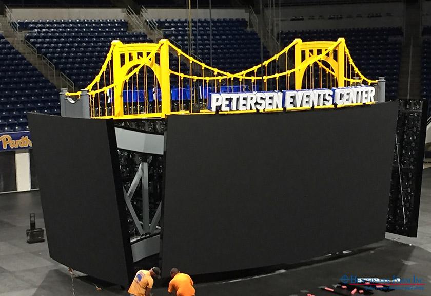 Foam Core Bridge by Benchmark Foam Crowns New University Display