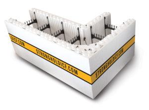 Stronghold ICF corner block